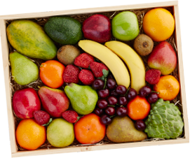 Mixed Fruit Gift Box tilted