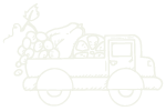 Snowgoose Fruit Delivery Truck Icon