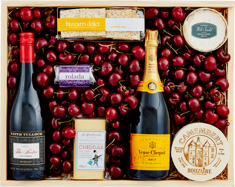 Grand Reserve with Cherries -Keith  Tulloch 'The Kester' & Veuve