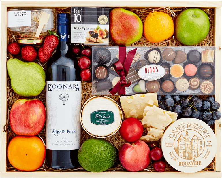 Sweet Luxuries with Koonara Red Wine - Aerial