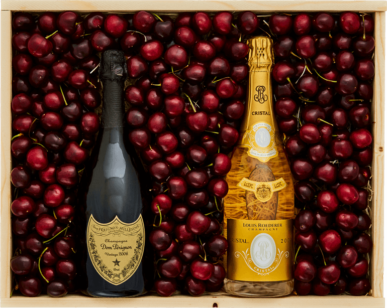 Cherries, Cristal and Dom Perignon - Large