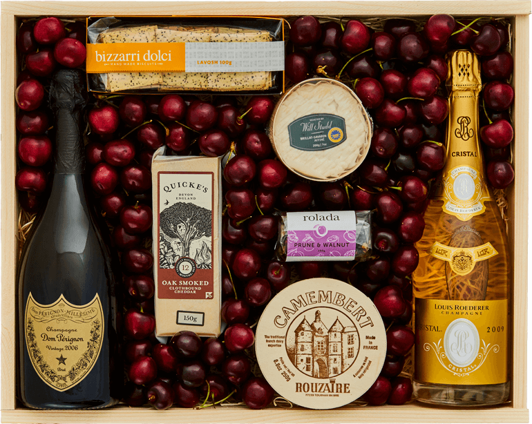 Grand Reserve Cherries Cristal and Dom Perignon - Large