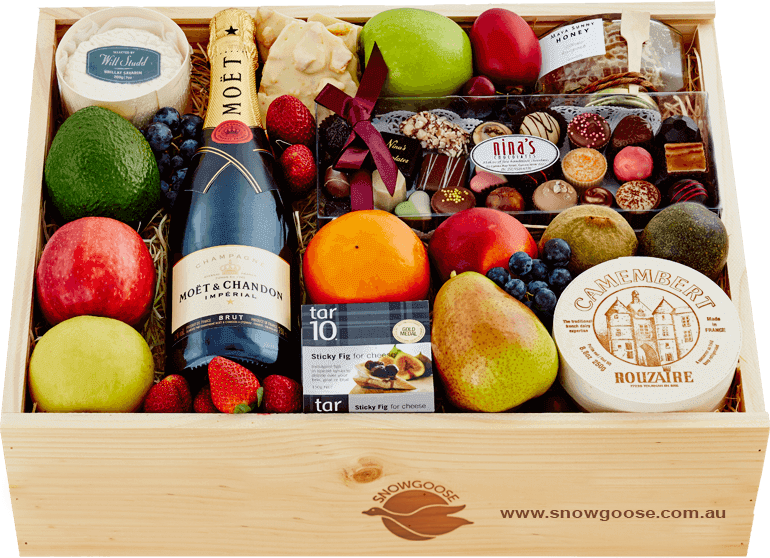 Sweet Luxuries with Moet - Front