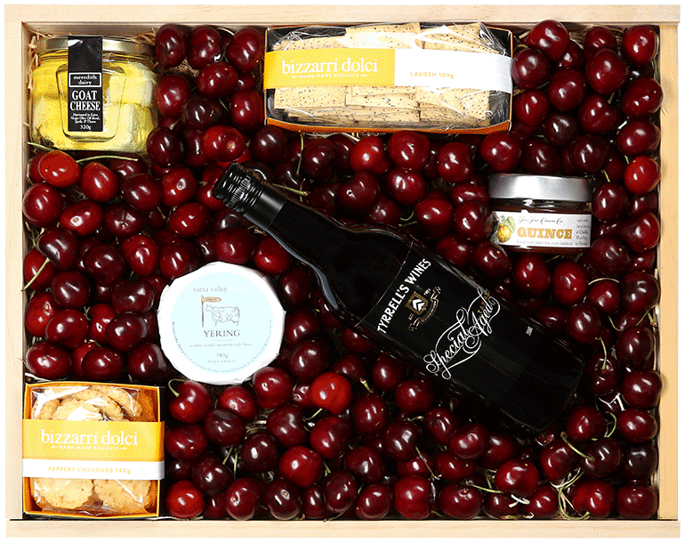 Cherry, Cheese & Tyrrell's Special Aged Port Wine